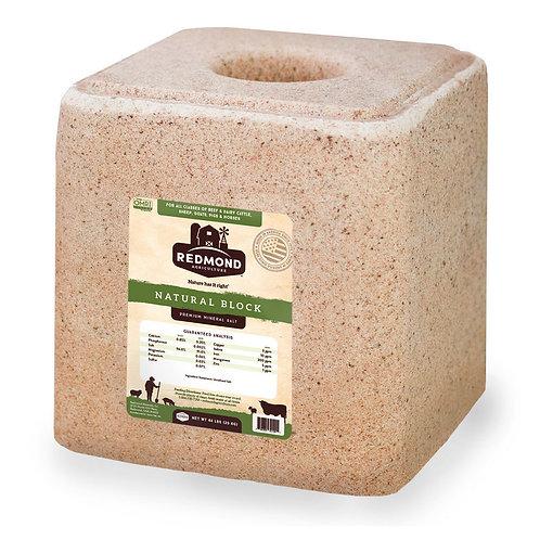 44# Redmond Natural Premium Mineral Salt Block