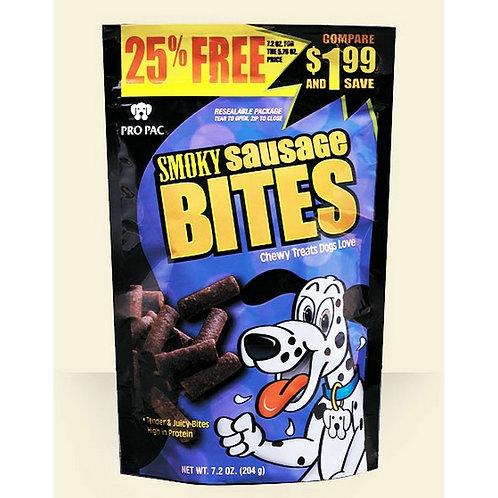 7.2 OZ SMOKEY SAUSAGE DOG TREAT