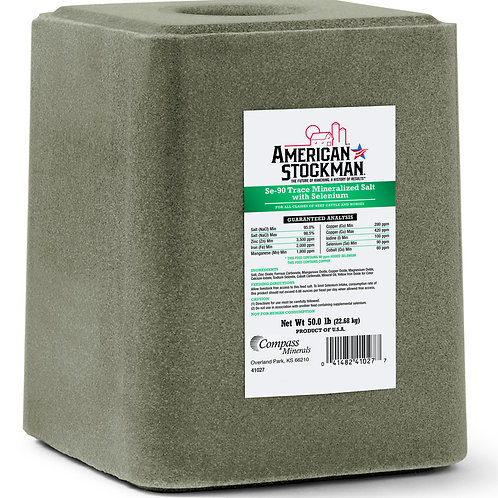 50 # Trace Mineral with Selenium Block