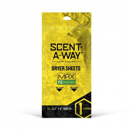 Scent-A-Way MAX Fresh Earth Dryer Sheets