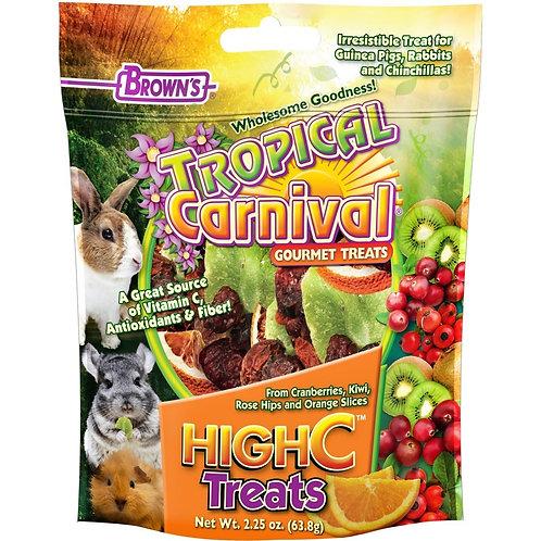 Tropical Carnival Super Premium High C Rabbit Treats