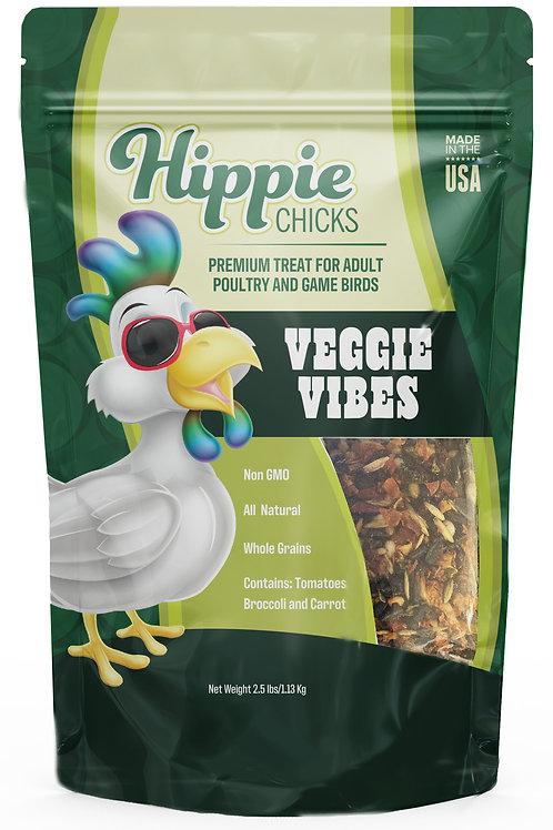 Hippie Chicks 2.5# Veggie Vibes  Whole Grain Treats