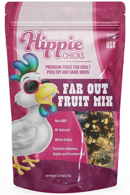 Hippie Chicks 2.5# Far Out Fruit Whole Grain Treats