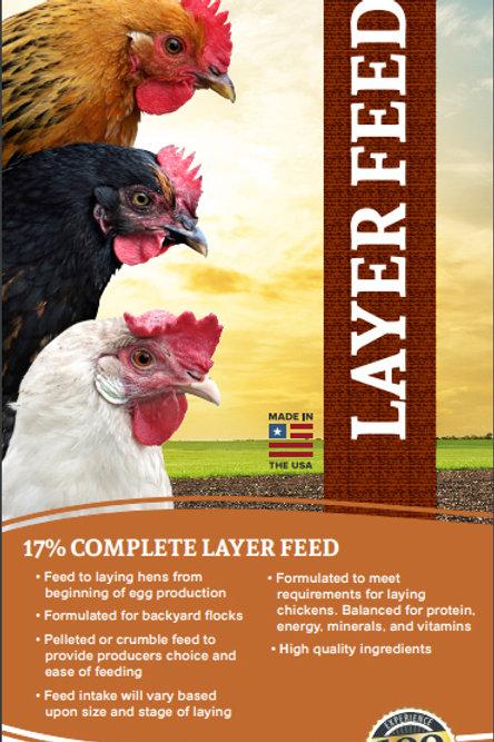40# Complete Layer 17% Mini Pellet