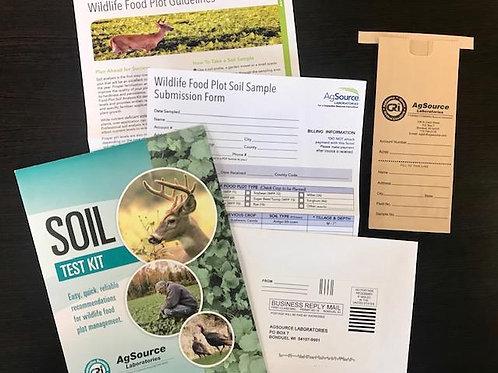 Wildlife Food Plot Soil Test Kit