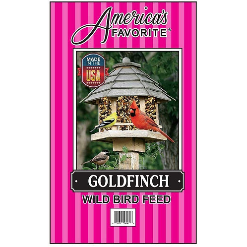 GOLDFINCH WILD BIRD FEED PINK STRIPE BAG
