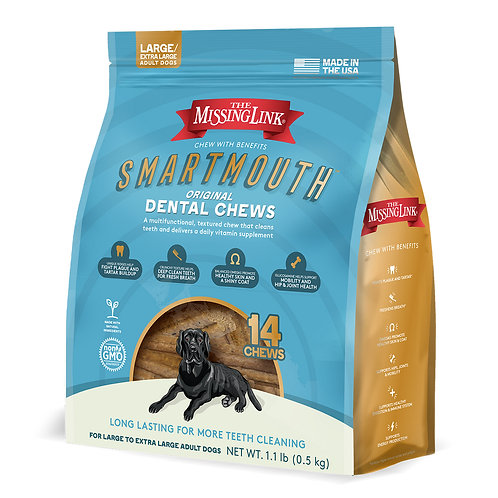 MARTMOUTH DENTAL CHEW FOR LARGE / X-LARGE DOGS 14 COUNT