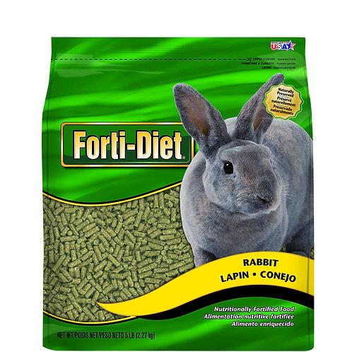 5 # FORTI DIET RABBIT FOOD