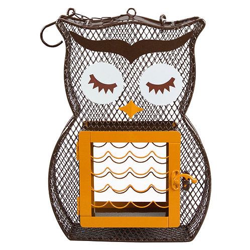 Owl Suet and Seed Feeder
