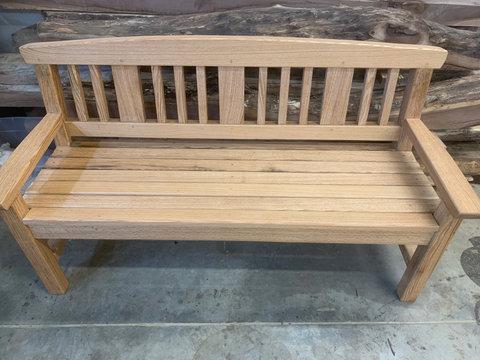 White Oak Garden Bench