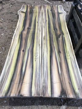 Rainbow Poplar Table Top