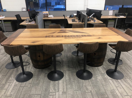 Walnut and Hackberry Conference Table