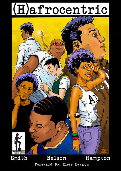 (H)afrocentric Book Cover