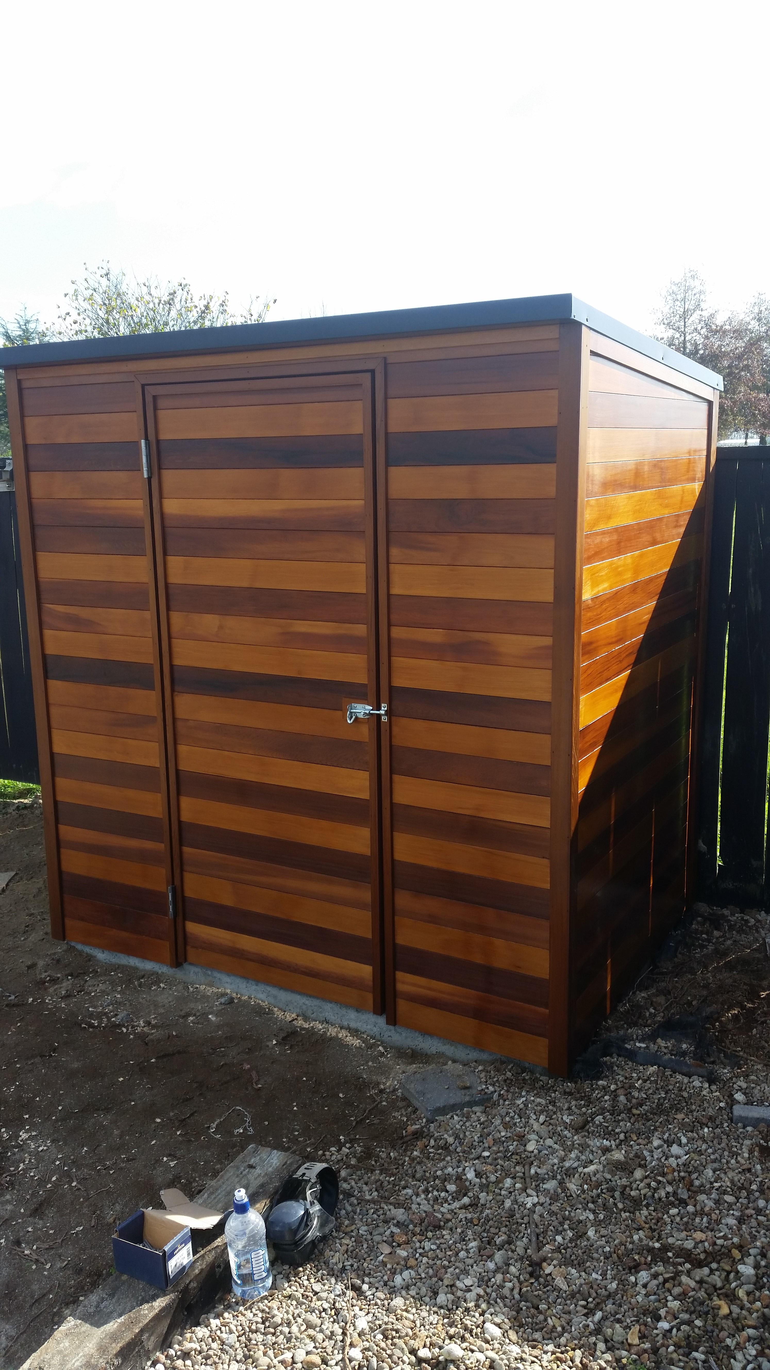 Cedar shed 2x coats