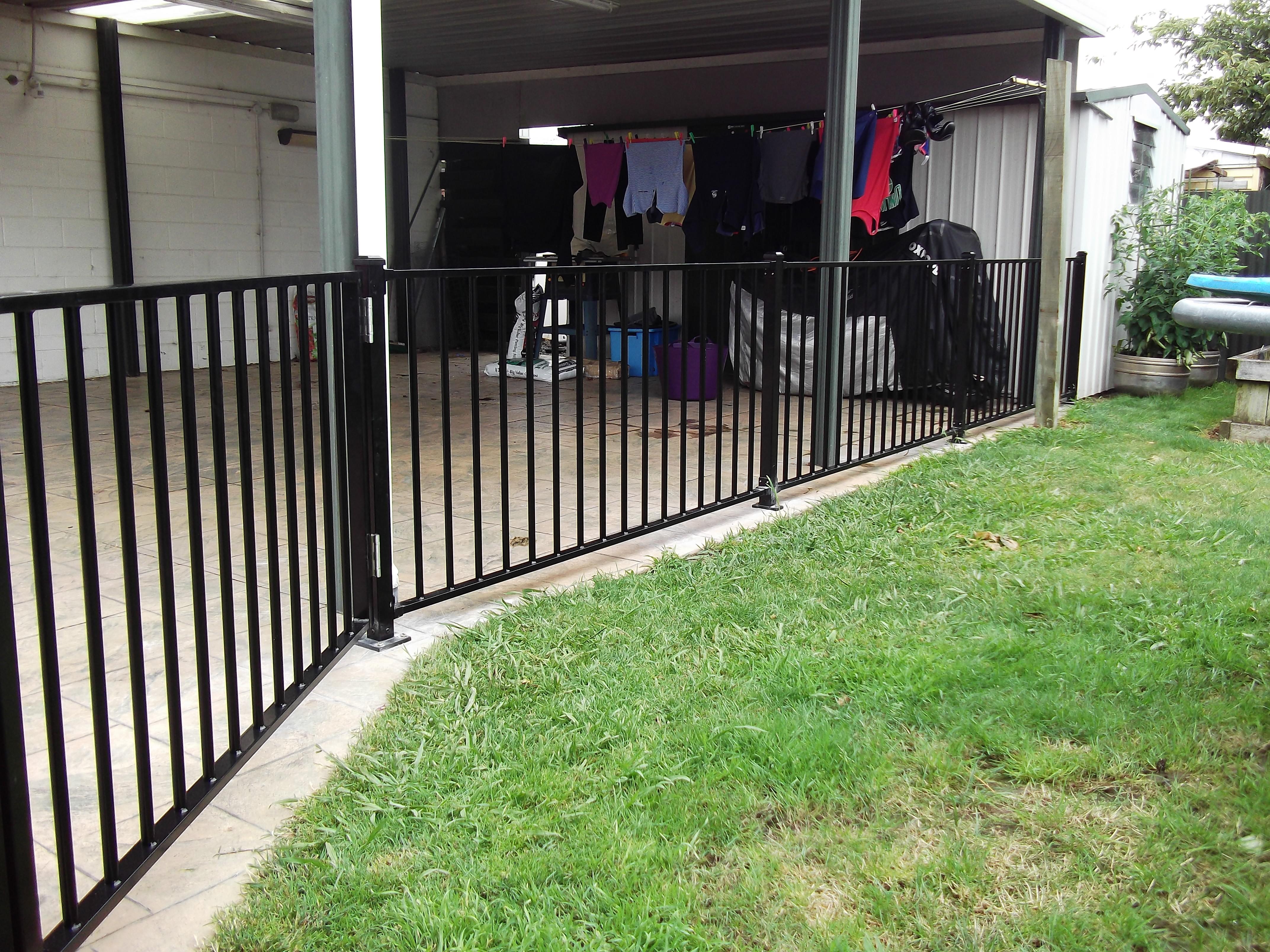 Aluminium fence CDM1 profile