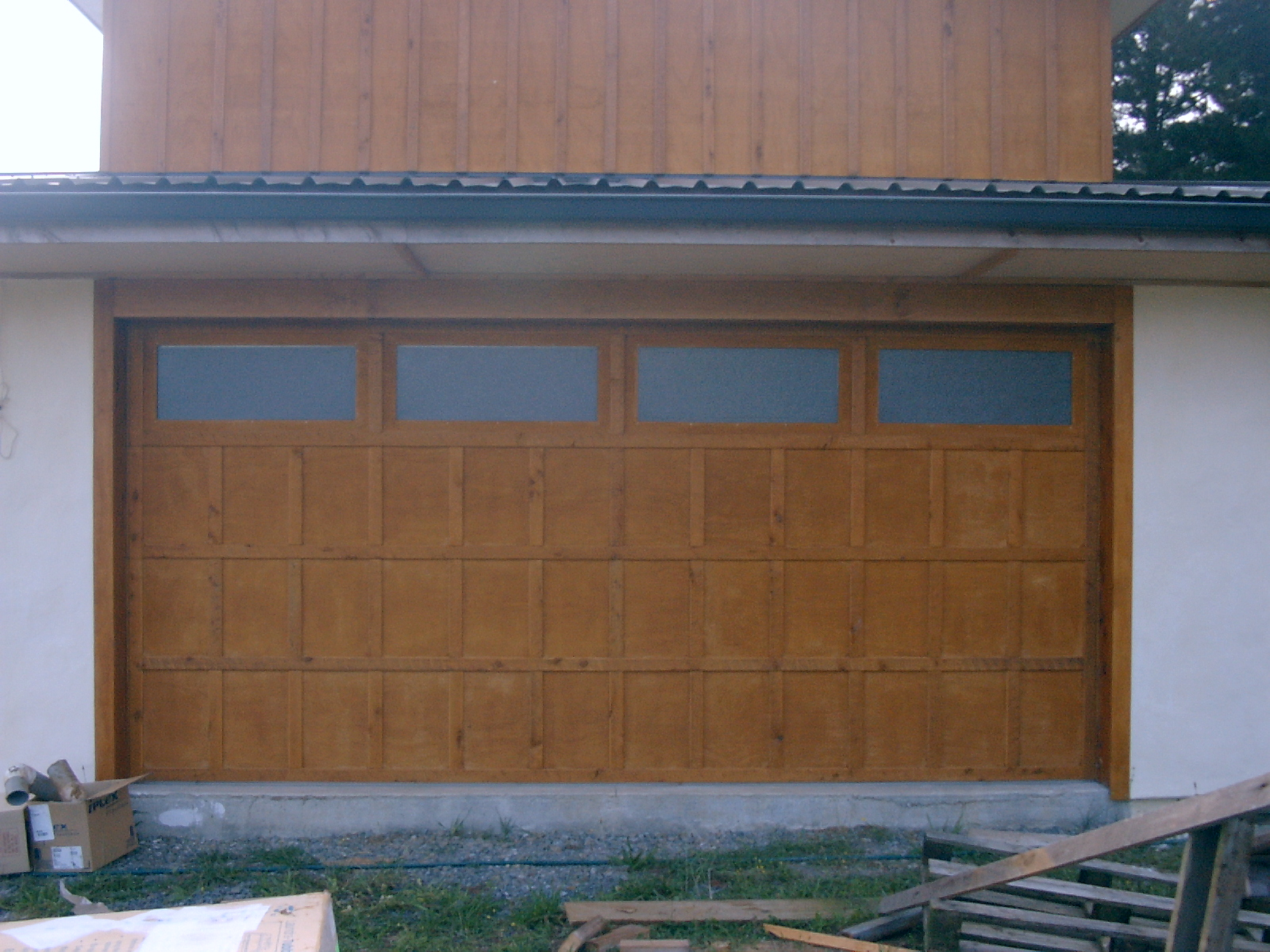 custom ply batten garage door