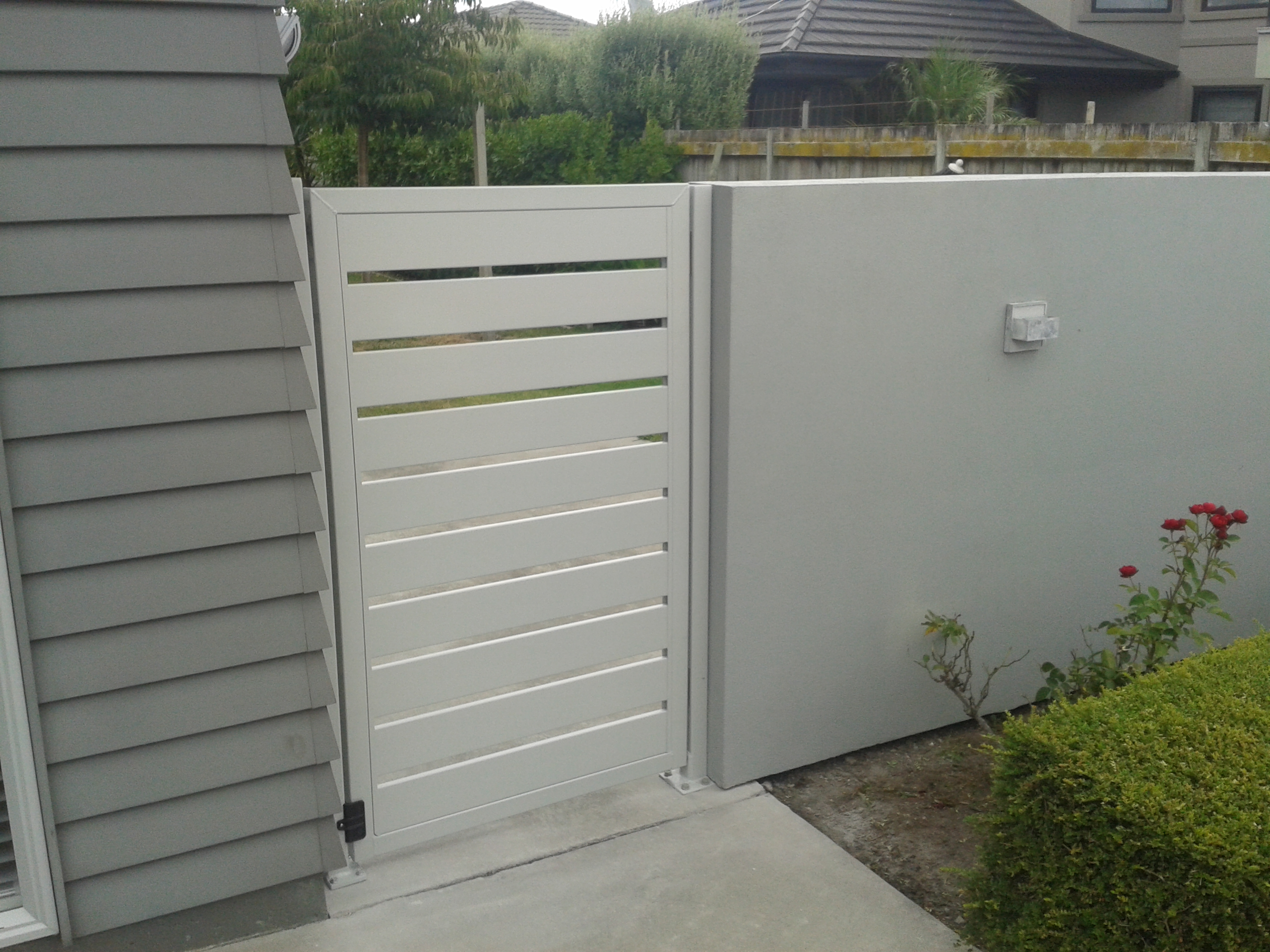 Aluminium, paling side gate