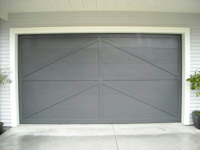 custom designed ply batten doors