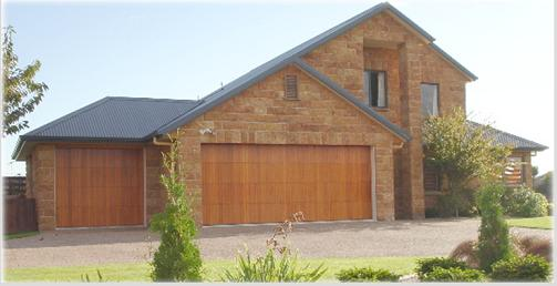 vertical cedar garage door