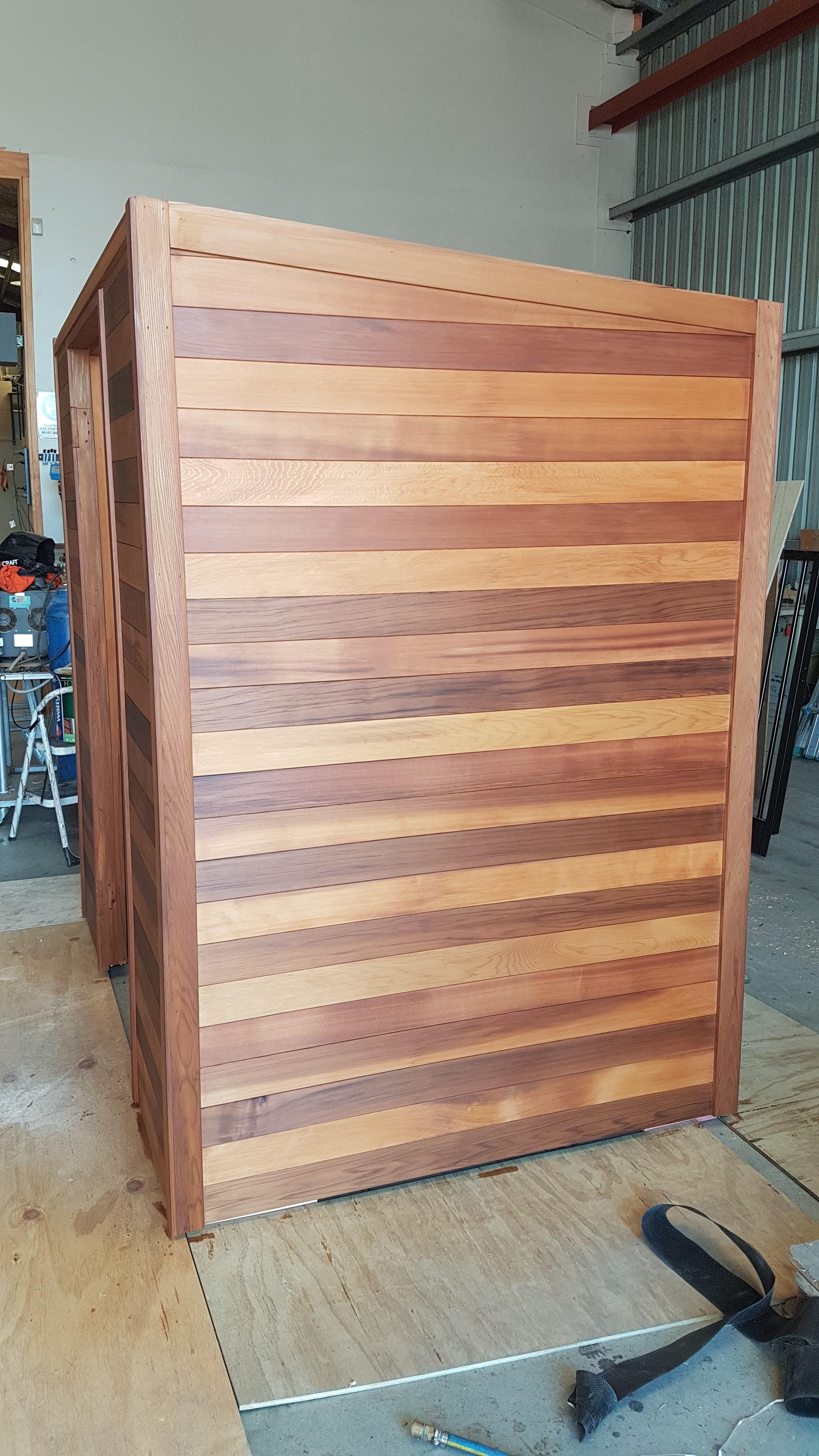 Cedar shed 1x coat