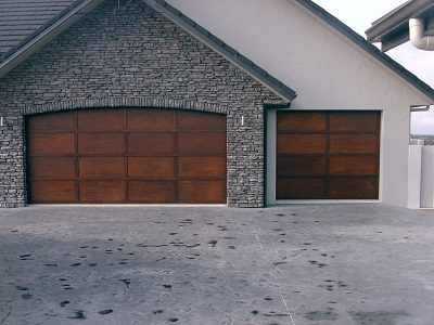 Double and single ply-batten garage doors