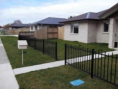 CDM 3 aluminium boundary fence