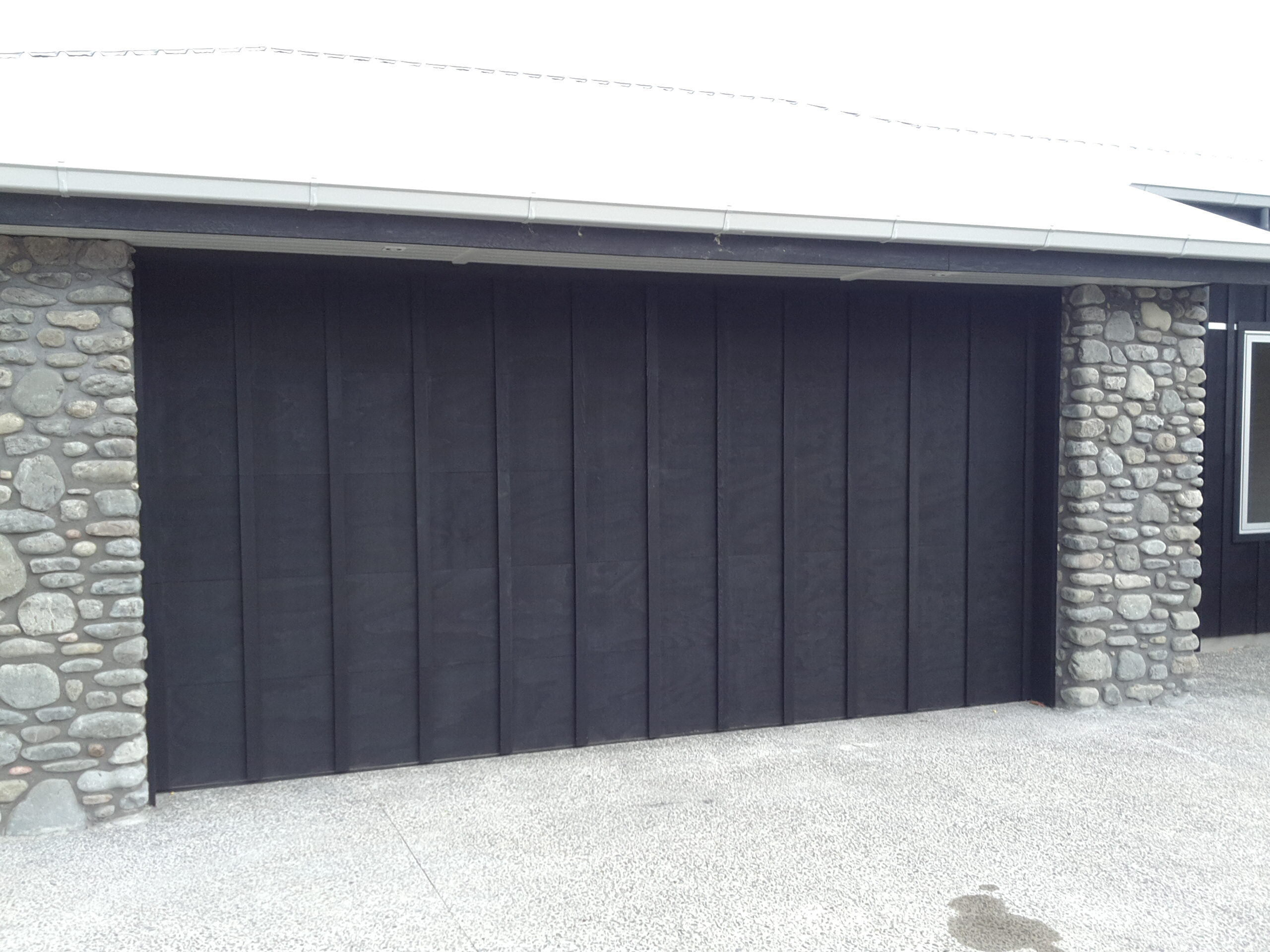 sectional ply batten garage door