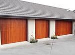Cedar Garage Door