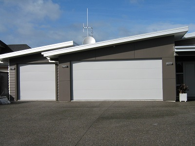 side by side alloy garage doors