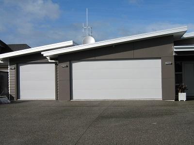 side by side alloy garage doors
