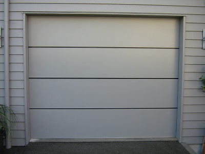 Horizontal Alloy garage door