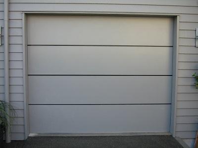 Horizontal Alloy garage door