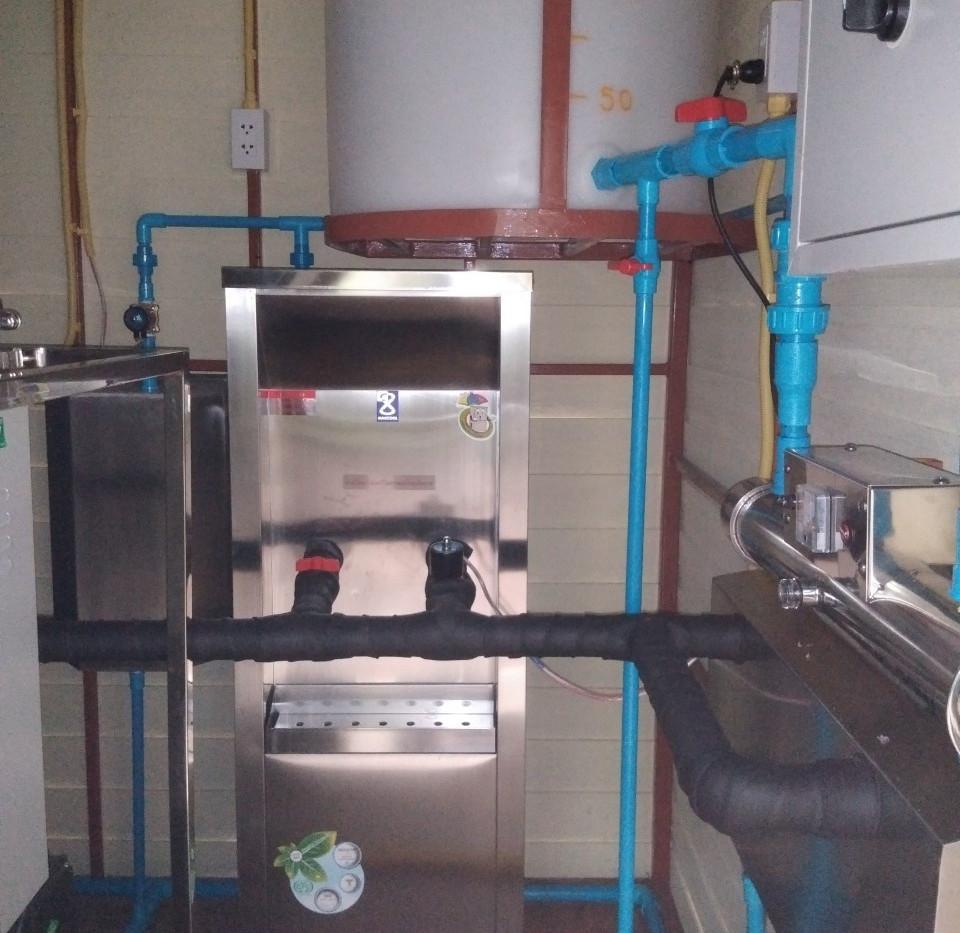 ติดตั้งอาคารน้ำดื่ม RO_2.41 ตชด.1474 บ้า