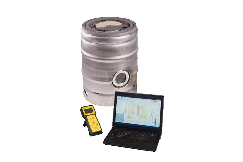 "Haffmans เครื่องมือตรวจสอบเครื่องล้างถังเบียร์สด Keg monitor รุ่น ""KEG"""