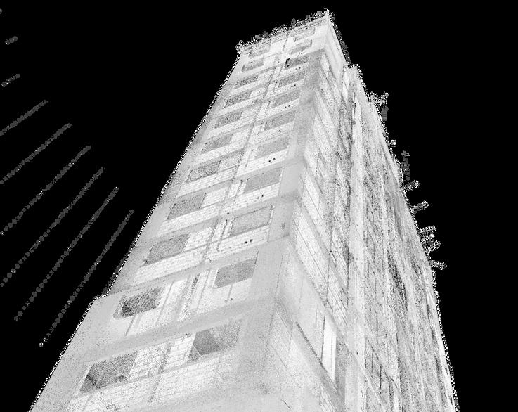 Fachada frontal do edifício