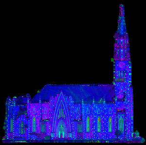 Fachada Lateral da Catedral de Pedra