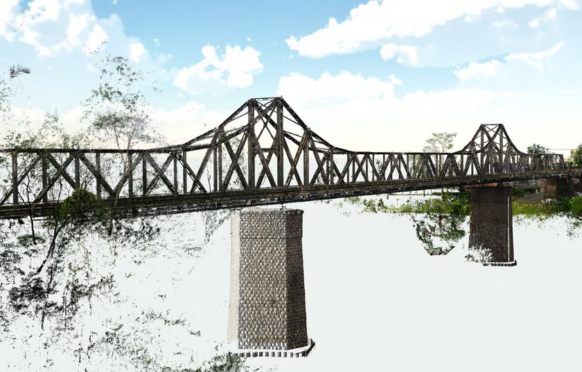 Ponte Aldo Pereira de Andrade em Blumenau/SC