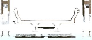 Corte transversal Ponte de Ferro
