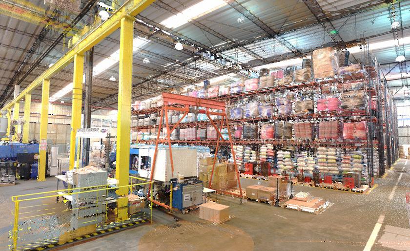 Indústria em Blumenau/SC