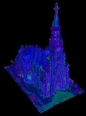 3D Catedral de Pedra