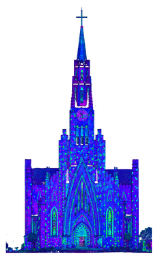Fachada Frontal Catedral de Pedra