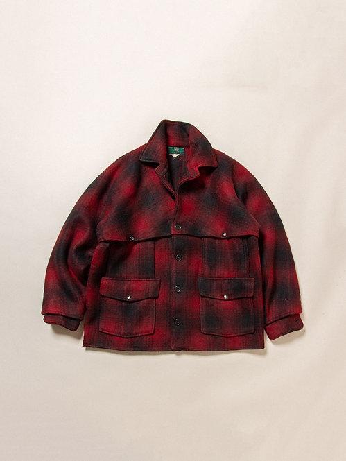 Vintage 1940s Plaid Jacket (M)