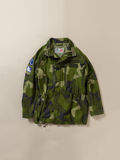 Vtg Swedish Army M90 Jacket (L)