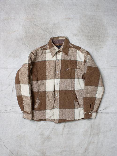 Vtg Westerfield Plaid Jacket (S/M)