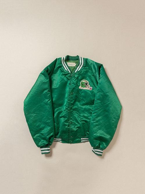 Vtg Eagles Football Nylon Jacket (XL)