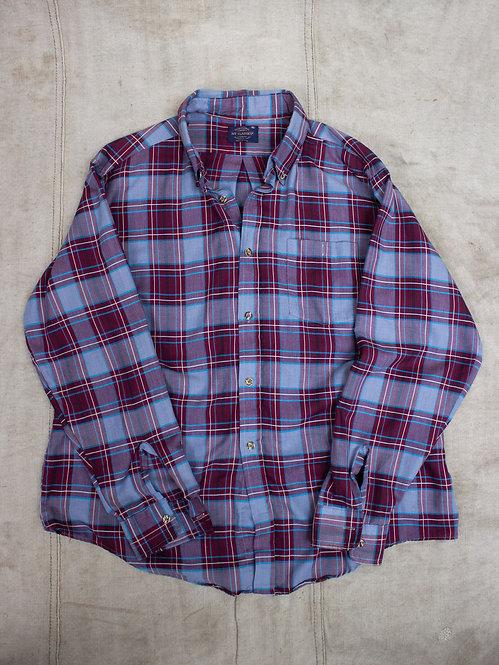 Vtg Ivy Classic Lightweight Summer Shirt (XL)