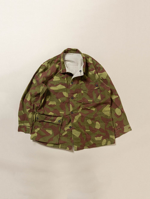 Vtg Finnish Army Reversible Camo Jacket (XL)