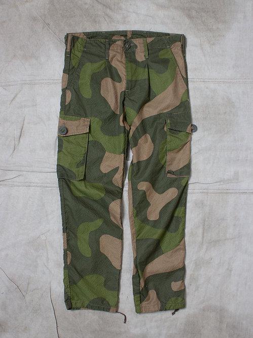 Vtg Norwegian Army Ripstop Pants