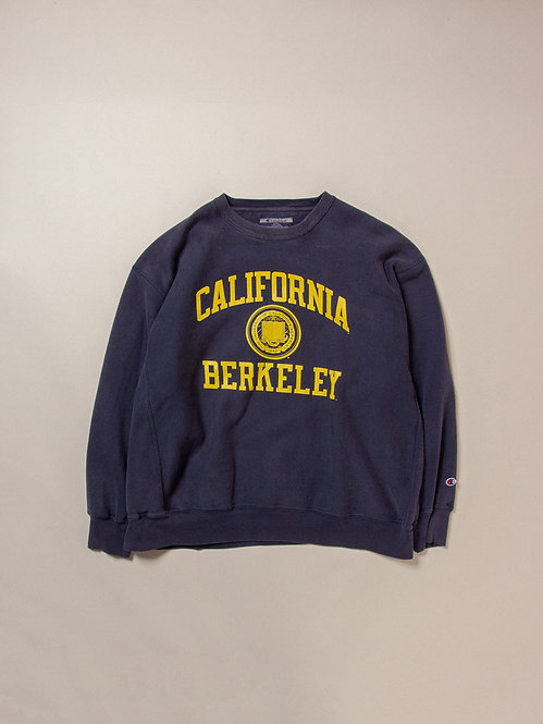 Vtg Champion Reverse Weave Berkley Sweatshirt (XL/XXL)