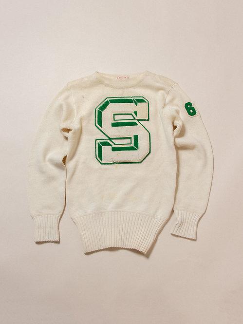 Vintage 60s Round Neck Sweater (S/M)
